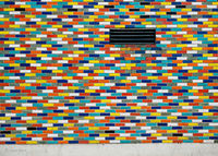 bickology,colored,bricks,chicago