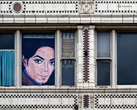 thriller.michael,jackson,painting,street,chicago