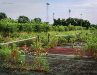 forgoetten,abandoned,school,tennis,courts,rust,belt