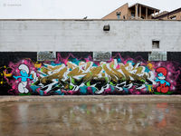 smurfs,graffiti,chicago,asend