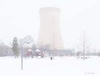 snow,day,rust,belt,park,nuclear,cooling,tower