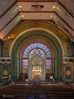 ark,abandoned,jewish,temple,chicago