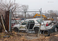 gary,finest,abandoned,police,car,junked