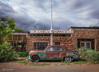 old,buick,cow,canyon,trading,post,utah