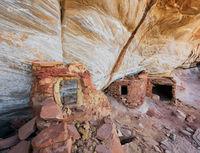 yellow,ruin,ancestral,puebloan,cliff,dwelling,anasazi,colorado,plateau