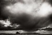shiprock,thunderstorn,navajoland