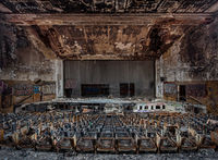 firestruck,abandoned,high,school,auditorium,rust,belt