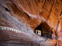 two,toned,ruin,navajo,reservation,old,anasazi,ruins,structures