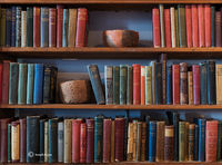 old,books,pots,hubbell,trading,post,ganado,arizona