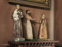 religious,figurines,hubbell,residence,ganado,arizona,trading,post
