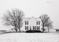 indiana,farm,winter,farmstead