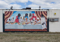 black,last,supper,mural,detroit