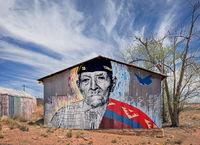 navajo,code,talker,mural,tonalea,arizona,navajo,rez,street,art
