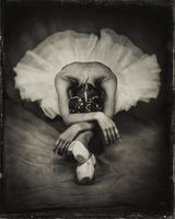 ballet,in,the,antiquity,chicago,wet,plate,collodion,tintype,ballerina