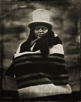 matilda,james,navajo,hubell,trading,post,ganado,arizona,wet,plate,collodion,tintype,portrait,portraitphotography,modern,contemporary,tintype
