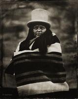 matilda,james,navajo,hubell,trading,post,ganado,arizona,wet,plate,collodion,tintype,portrait