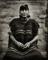 edison,eskeets,navajo,trader,hubbell,trading,post,ganado,arizona,wet,plate,collodion,tintype,portrait