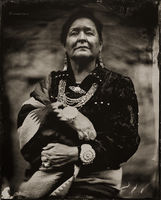 former,miss,navajo,nation,delphine,ludlam,hubbell,trading,post,Ganado,arizona,wet,plate,collodion,tintype