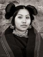 Portrait of a Hopi Maiden