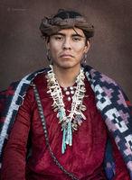 Portrait of a Navajo Young Man