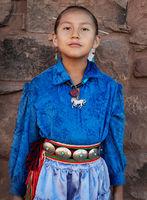 Proud Navajo Girl