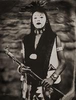 Greyhawk, ohkayowingeh,sanjuanpueblo,newmexico,hubbell,trading,post,ganado,arizona,wet,plate,collodion,tintype,portrait