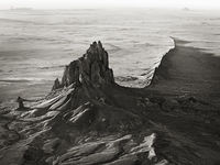 Aerial View of Shiprock
