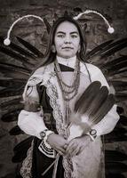 San Juan Pueblo Native American Portrait