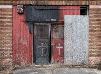 Abandoned Church Doors