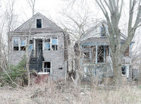 ghost, abandoned,home,rust,belt