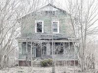 abandoned,home,rust,belt,ghost