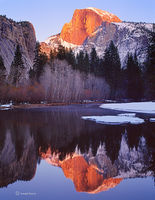 half,dome,alpenglow,california,yosemite,national,park