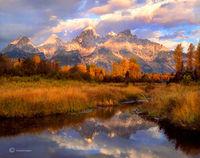 teton,sunrise,wyoming,autumn,grand,teton,national,park