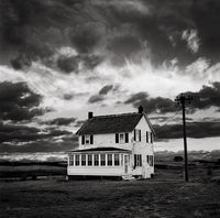 old,house,sky,rhode,island