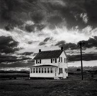 old,house,sky,rhode,island