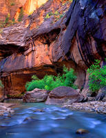 virgin,river,narrows,zion,national,park