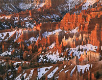 winter,hoodoos,colorado,plateau,bryce,canyon