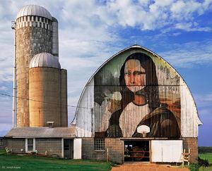 The Mona Lisa Barn