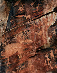 The Elk Petroglyph