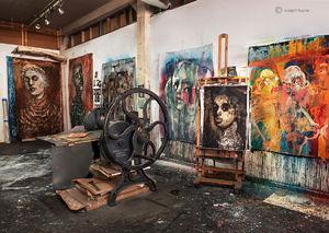 The Artist's Studio I