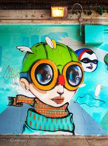 Hebru Brantley Viaduct Street Art