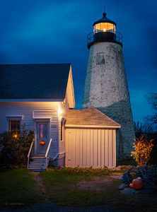 A Maine Lighthouse