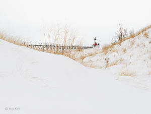 Snow Drifts & Lighhouse