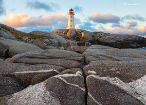 Peggy's Lighthouse, Dawn