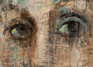 Eyes, Painting Detail