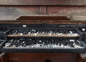 Burnt Church Organ