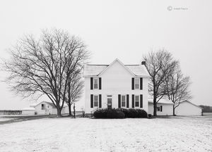 Winter Farmstead