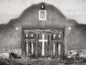 Adobe Wall & Door
