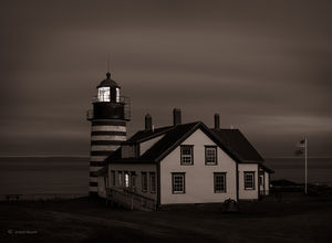 Midnight At The Lighthouse