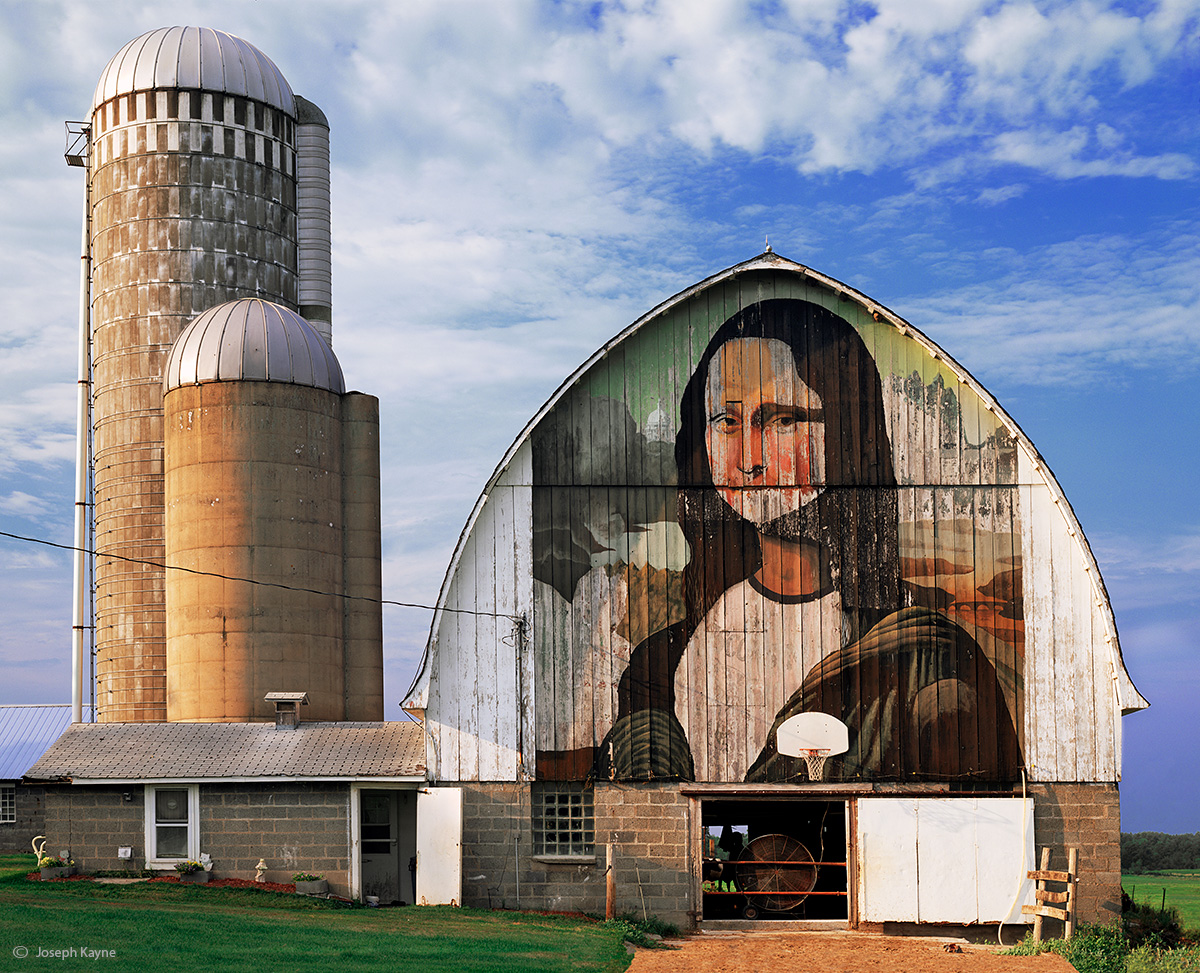mona,lisa,barn,wisconsin, photo